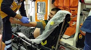 Samsun'da bıçaklı kavgada bir kişi yaralandı