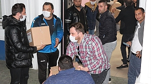 """Samsun'da """"Çorbada Tuzumuz Olsun"""" kampanyasıyla 6 bin aileye kumanya"""