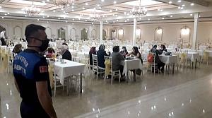 Samsun'da düğünlerde Kovid-19 denetimi