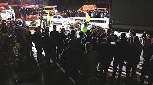 Samsun'da otomobil ile tır çarpıştı: 1 ölü