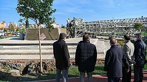 Samsunspor Anıtı, Millet Bahçesi'ne yerleştiriliyor