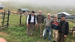 Şavşat'ta yetkililerden Iğdırlı yaylacılara ziyaret