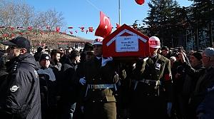 Şehit Teğmen Sinan Bilir Tokat'ta son yolculuğuna uğurlandı