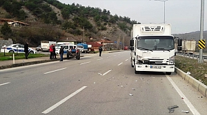 Taşova'da trafik kazası: 1 yaralı