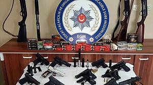 Tokat merkezli silah kaçakçılığı operasyonu