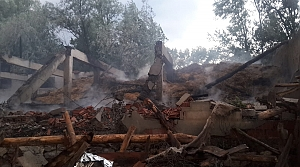 Tokat'ta bir evde çıkan yangında 1 kişi öldü