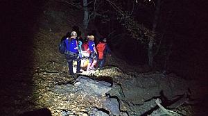Tokat'ta kayalıklardan düşen kişi öldü