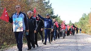 "Tokat'ta yaylada ""Ata'ya saygı"" yürüyüşü"