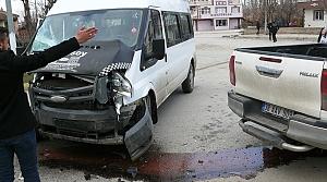 Tokat'ta zincirleme trafik kazası: 1 yaralı