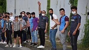 Trabzonspor kafilesi Alanya'ya gitti