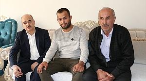 Vali Dağlı'dan Barış Pınarı Harekatı gazisine ziyaret