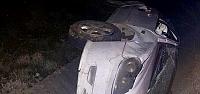 Çorum'da otomobil kanala devrildi: 1 ölü