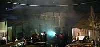 Düzce'de atölye yangını