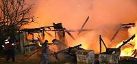 Düzce'de restoranda yangın