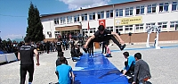 Kavak Anadolu Lisesinde bilim fuarı...