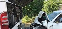 Samsun'da trafik kazası: 1 ölü,...