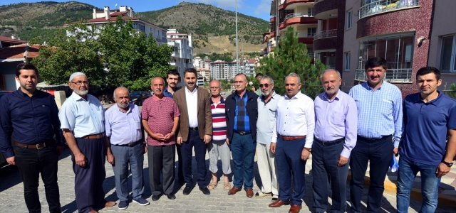Tokat Belediye Başkanı Eyüp Eroğlu'dan mahalle ziyareti