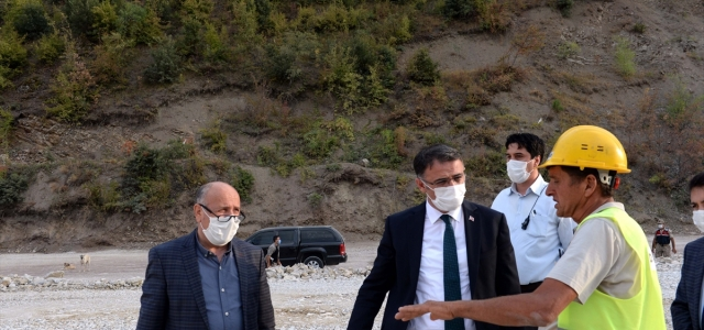 Tokat Valisi Ozan Balcı yol çalışmalarını inceledi