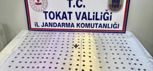 Tokat'ta 232 sikke ele geçirildi