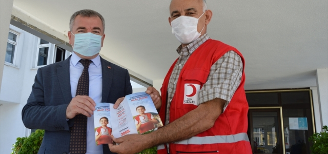 Türk Kızılay Havza Temsilciliğinden Başkan Özdemir'e ziyaret