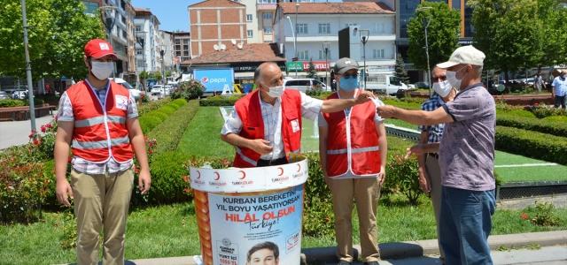 Türk Kızılay Havza Temsilciliğinden vekaleten kurban çalışması