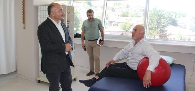 Usta'dan Özdemir'e ziyaret