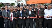 Karabük'te yaya köprüsü açılışı