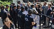 Zonguldak'taki maden işçilerinin maaş eylemi