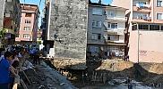 Ordu'da bir bina yıkılma tehlikesine karşı boşaltıldı