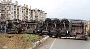 Tosya'da trafik kazası : 2 yaralı