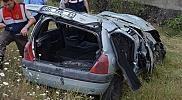 Taşköprü'de trafik kazası,1 kişi ağır yaralı