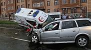Rize'de ambulans kaza yaptı: 1 ölü, 5 yaralı
