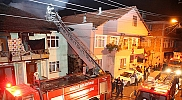 Düzce'de ev yangını: 1 yaralı