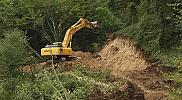 Yol yapımı, taş ocağı çalışması sanılınca