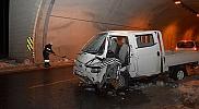 Gümüşhane'nin Torul ilçesinde meydana gelen kazada 2 kişi yaralandı.