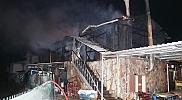 Düzce'de iş yeri yangını