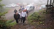 Vali Yavuz, Yoroz Kent Ormanı'nda gezi ve incelemelerde bulundu