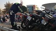 Düzce'de motosiklet denetimleri