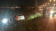 Giresun'da otomobil polislere çarptı