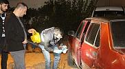 Bafra'da araçtan hırsızlık