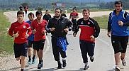 Serbest Güreş Genç Milli Takımı'nın Aladağ kampı