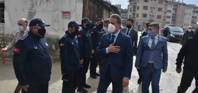 Vali Karaömeroğlu, Boyabat ilçesinde incelemelerde bulundu