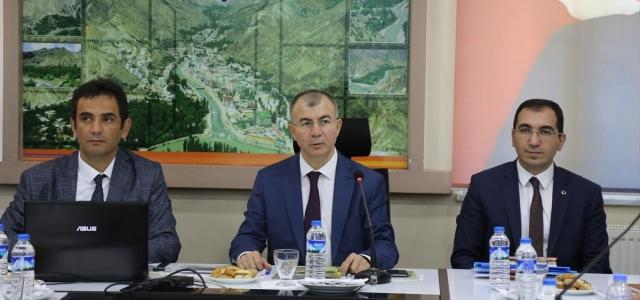 Yusufeli Barajı ve Yusufeli yeni yerleşim yeri değerlendirme toplantısı