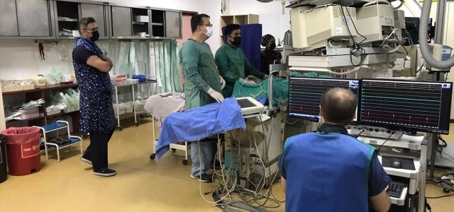Zonguldak'ta kalp ritim bozukluğu yaşayan hastalar