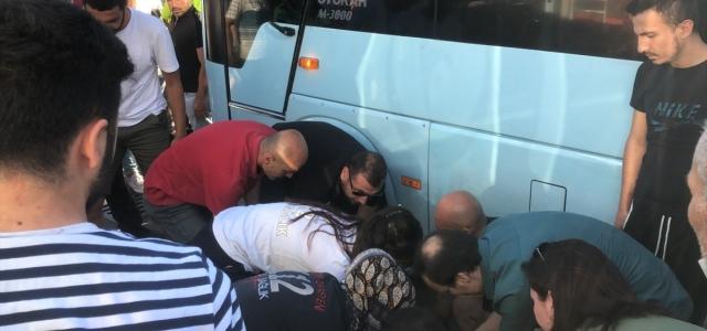 Zonguldak'ta minibüsün çarptığı yaya öldü