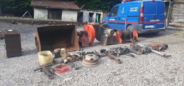 Zonguldak'ta özel maden ocağından hırsızlık yaptıkları iddiasıyla 3 şüpheli gözaltına alındı