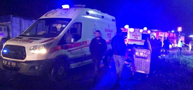 Zonguldak'ta trafik kazası: 2 ölü, 1 yaralı